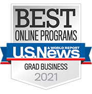 U.S. News & World Report Best Online Programs for Grad Business 2021