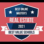 Best Online Master's Real Estate 2021 Best Value Schools
