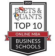 2020 Poets & Quants - Top 10 Online MBA Business Schools