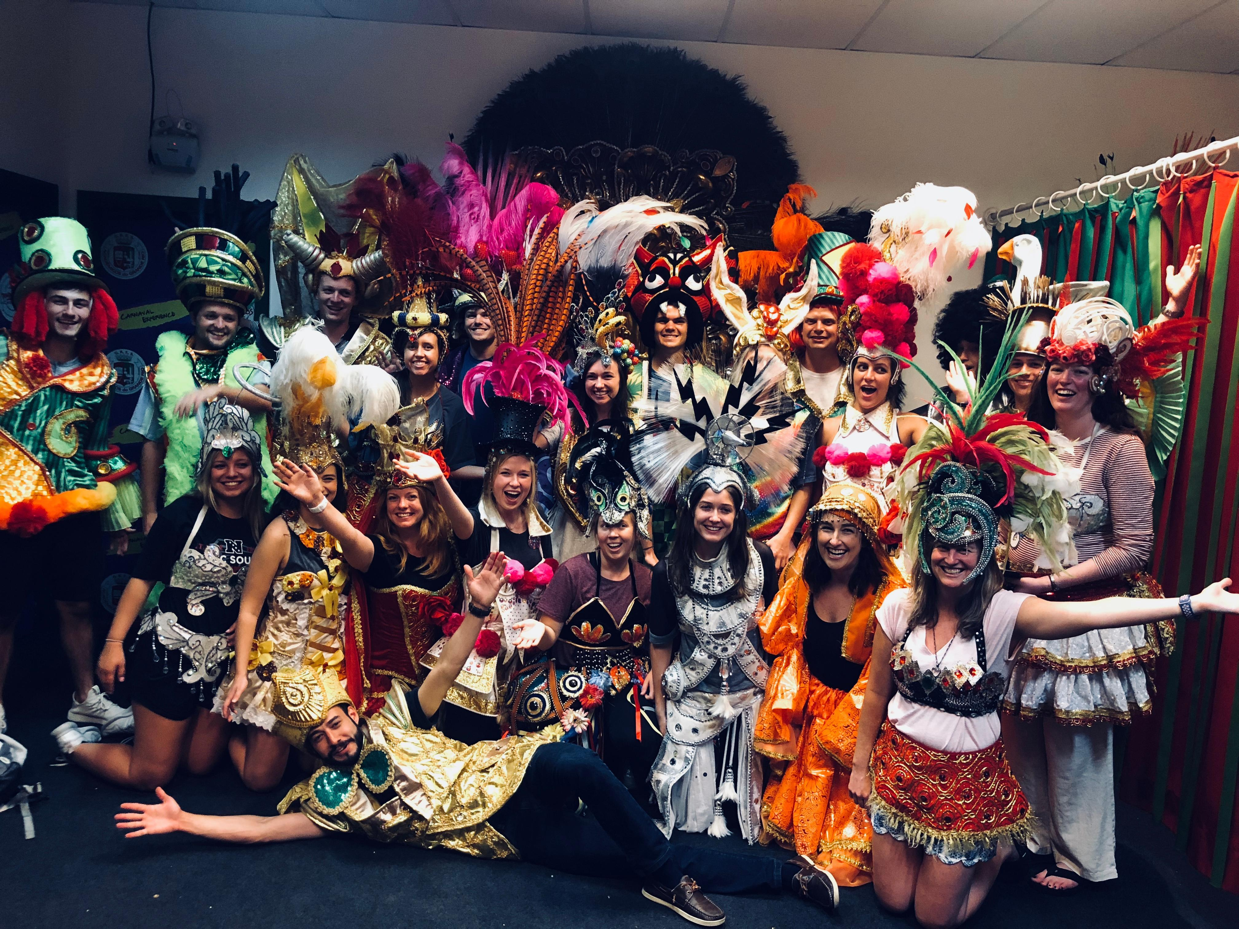 MAcc students learn about the history and pageantry of Carnival in Rio de Janiero