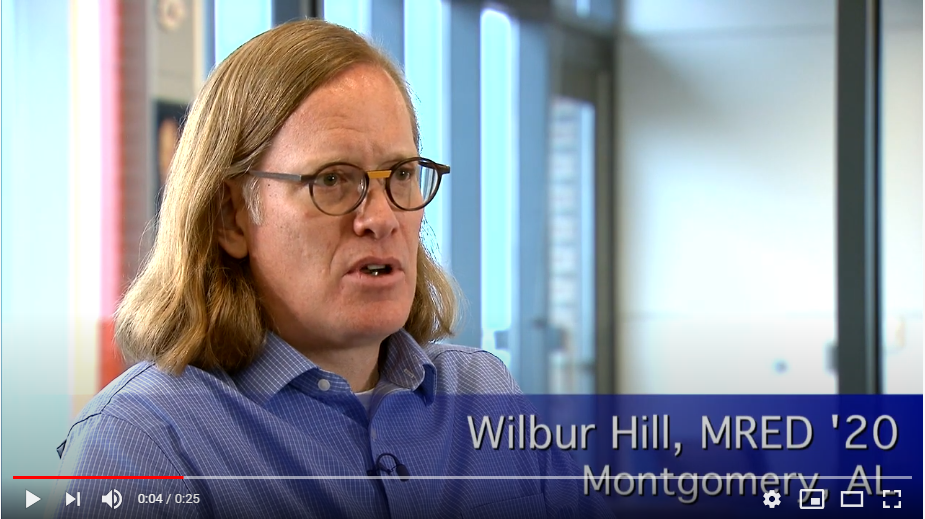 The Auburn MRED Difference with Wilbur Hill, MRED '20