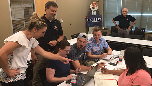 Harbert College helps facilitate a number of Auburn University entrepreneurship initiatives, including business pitch competitions and an incubator to help student start ups thrive.