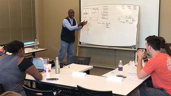 Auburn University's Summer Accelerator is an eight-week program that provides students with the tools and resources needed to develop and launch new business ventures