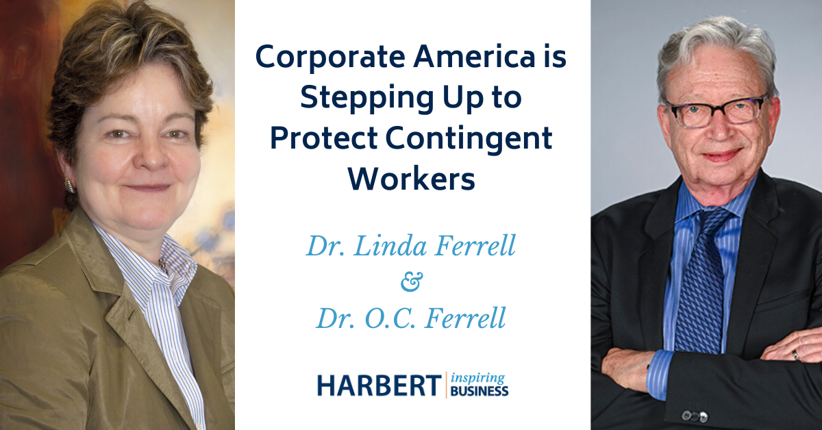 Harbert College professors discuss how companies are dealing with unprecedented decision-making in the face of the COVID-19 pandemic