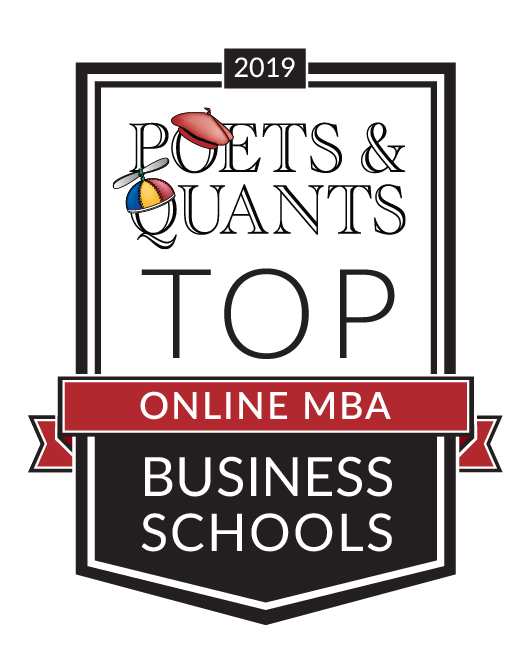 Auburn's online MBA program moved up eight spots from last year in the prestigious Poets & Quants ranking