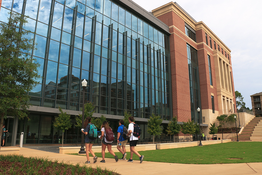New building at Harbert College of Business getting ready for fall semester