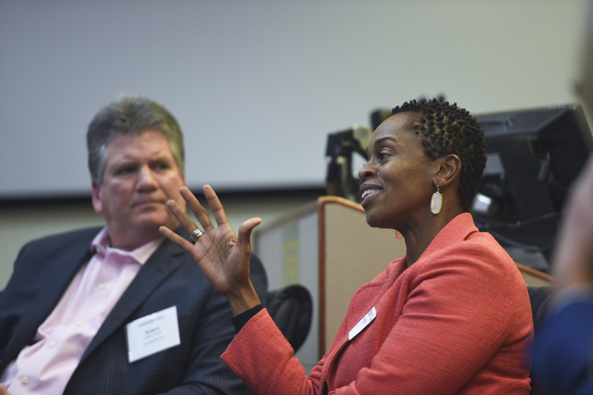 Four top industry executives explained the advantages of a diverse workforce at the college's Supply Chain Leadership Forum on Nov. 8